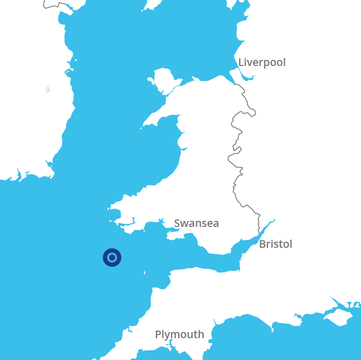 Llyr location map